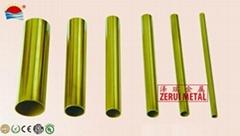 C27200 brass round tube in hard temper