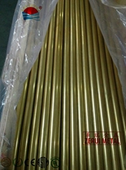 seamless brass pipe size from 3/8 to 3
