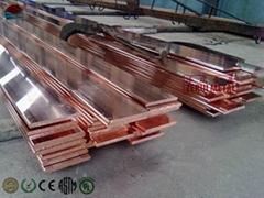 Cu-ETP copper flat  bar, 100% IACS