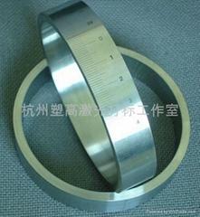 杭州激光打標機旋轉圓周打標