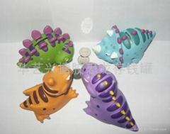 搪胶恐龙玩具