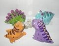 搪胶恐龙玩具 4