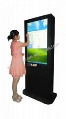 帶觸摸的戶外LCD液晶廣告機