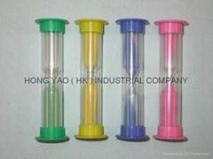 Plastic Sand Timer/sandglass/hourglass HY108P
