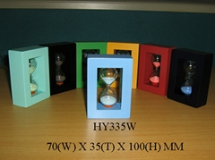 Wooden Sand Timer / Hourglass / sandglass HY335W