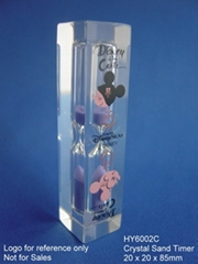 Crystal Sand Timer  / Hourglass / sandglass HY-6002C