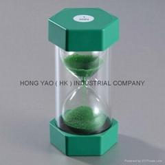 Educational, Sandglass Sand Timer clock, Hourglass HY1004P