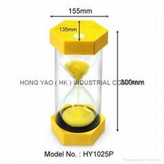 Sandglass Sand Timer clock, Education Hourglass HY1025P