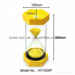 Sandglass Sand Timer clock, Education Hourglass HY1025P