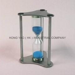 Metal Sandglass, Sand Timer clock, Hourglass, HY302M