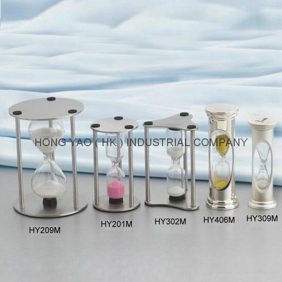 Metal Sandglass, Sand Timer clock, Hourglass, HY302M 3