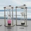 Metal Sandglass, Sand Timer clock, Hourglass, HY302M 4