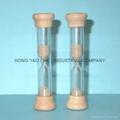 Wooden Metal Sandglass, Sand Timer clock