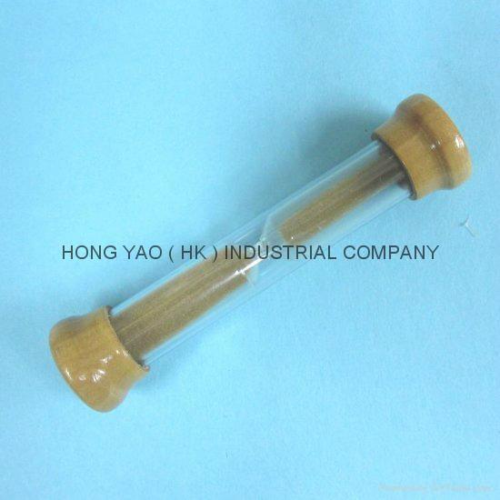 Wooden Metal Sandglass, Sand Timer clock, Hourglass, HY2012W 3
