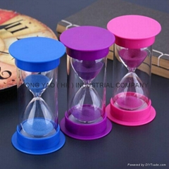 Plastic Sandglass, Sand Timer clock, Hourglass, HY1134P