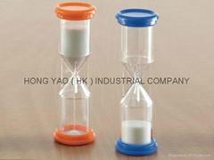 Plastic Sandglass, Educational Sand Timer clock, Hourglass, HY1126P