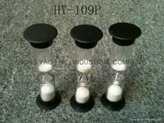 Plastic Sandglass, Board Game Timer Sand clock, Hourglass, HY109P