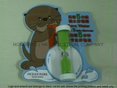 Promotional Shower timer, Sand Timer clock, Hourglass, HY783CD