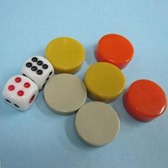 Board Game Pieces, Plastic Poker Counter Bingo Chips Kids Fun Toy Gift