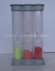 Plastic Sand Timer / Hourglass / Sandglass HY1019P