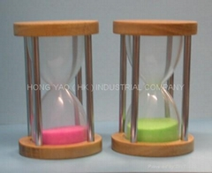 Wooden Sand Timer / Hourglass / sandglass HY2011W