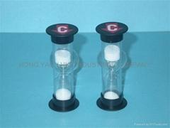 Plastic Shower Sand Timer / Hourglass / Sandglass HY1002P