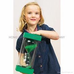 Educational Plastic Sand Timer / Houglass / Sandglass  HY1025P