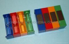 塑膠磁鐵沙漏/水漏 HY1065P