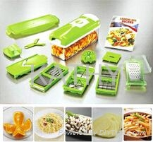 multi function kitchen plastic nicer dicer plus 12 sets as seen on tv