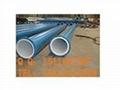 優質外塗塑內襯塑鋼管