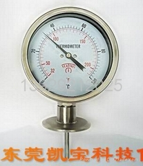 卡箍式雙金屬溫度計
