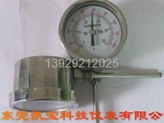 0-600度雙金屬溫度計