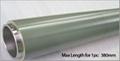 Zinc oxide aluminum target