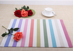 PVC mesh fabric for outdoor furniture or table mat