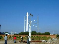 12V/24V輸出垂直軸風力發電機H型
