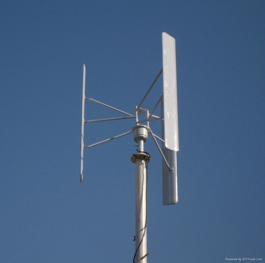 1kw垂直軸風力發電機 2