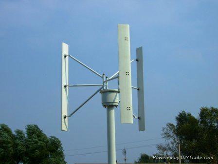 1kw垂直軸風力發電機 4