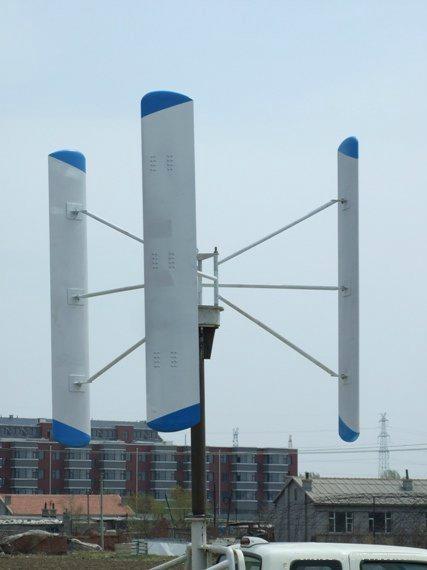 5kw Vertical Axis Wind Turbine - HVW-5000 - Powerful