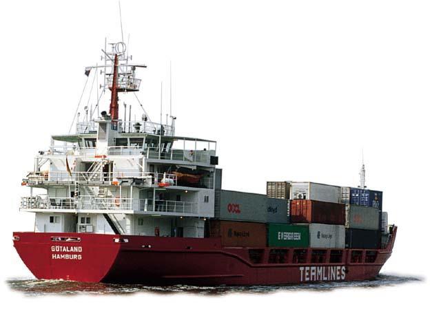 海运包括整箱和拼箱出口 1
