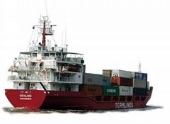 海運包括整箱和拼箱出口