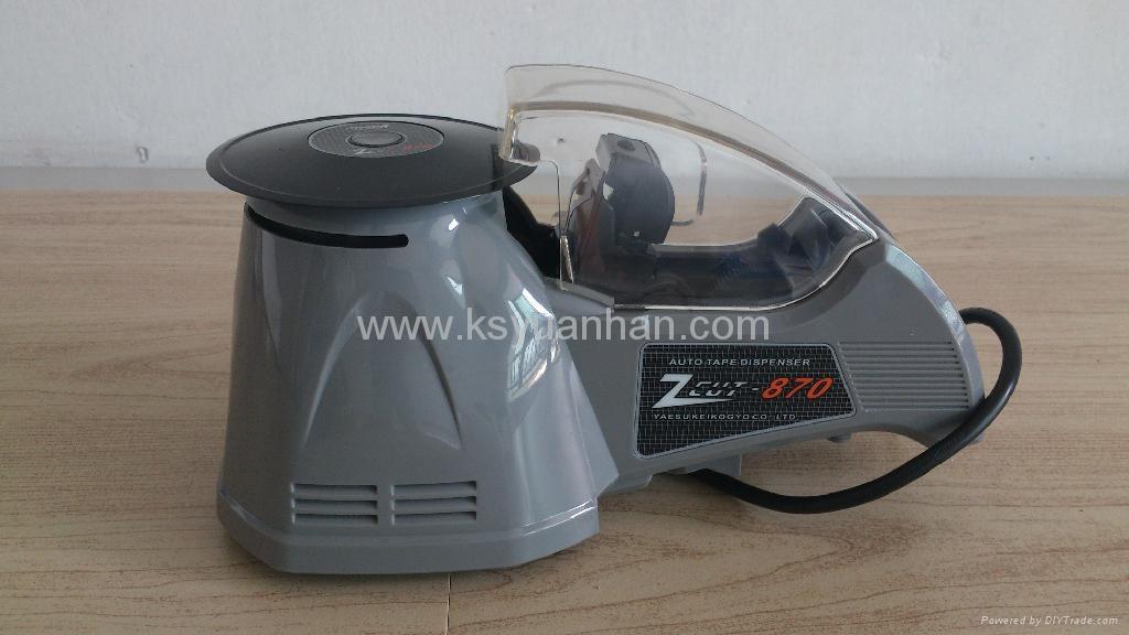 automatic transparent tape dispenser /masking tape cutter 3