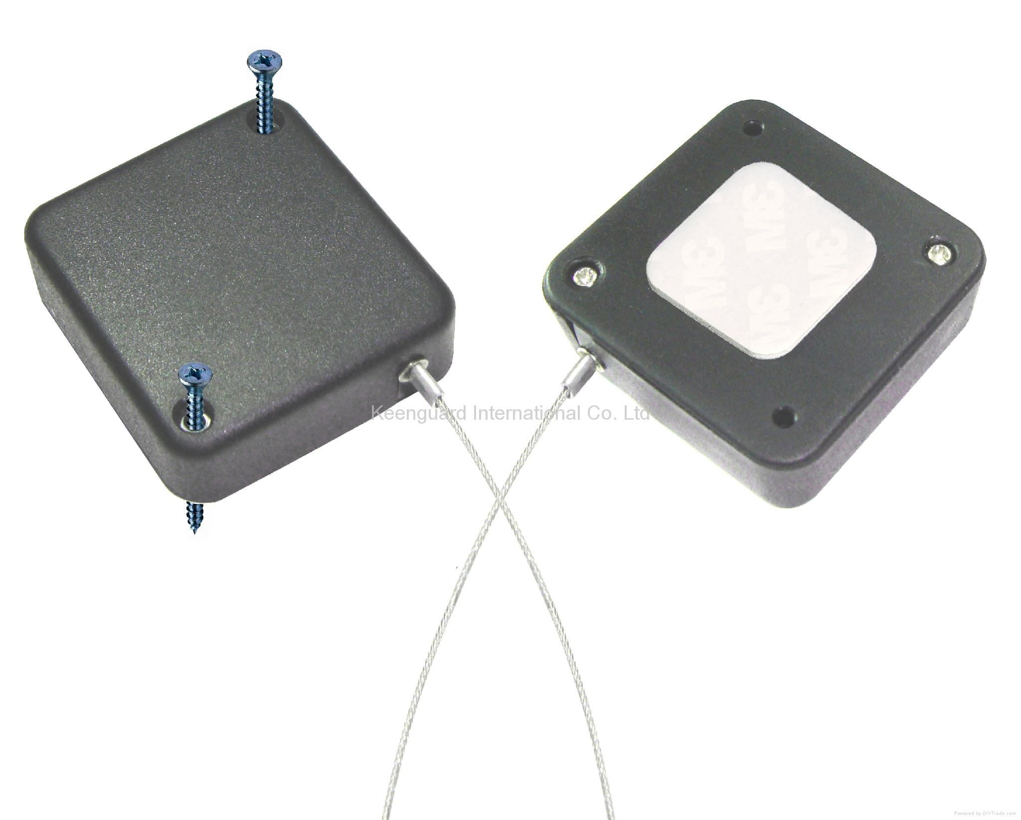 display cable tether