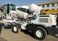 precast concrete 1.5cbm self-loading concrete mixer for sale