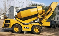ready mix concrete machine 4m3 self loading concrete mixer