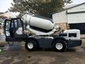 2.5m3 self loading concrete mixers for precast concrete