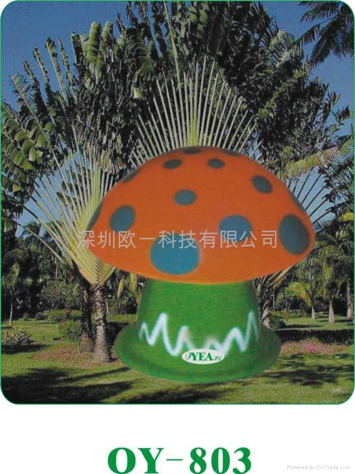 蘑菇草坪音箱 4