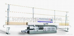 9Spindles Glass straight line edging machines