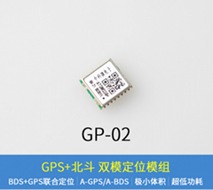 GPS+BDS北斗雙模 中科微衛星定位授時模塊