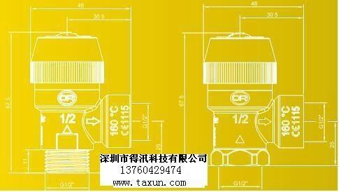 太阳能高温排气阀 3