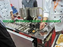 fully automatic taiyaki maker/cake making machine/taiyaki filling making machine
